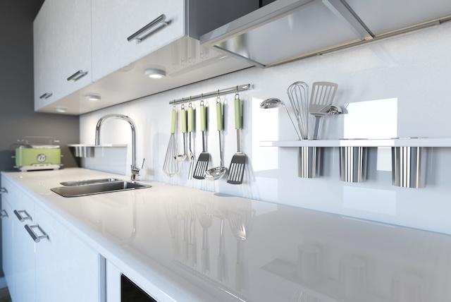 きれいに整理されたキッチン